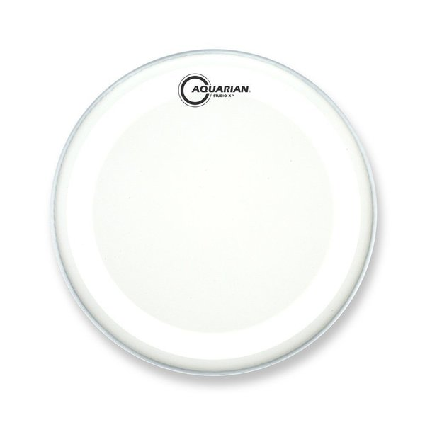 "Aquarian Aquarian Studio-X Series Texture Coated 20"" Drumhead - White"