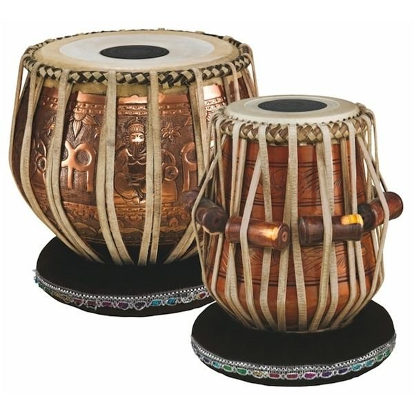 Meinl Meinl Professional Tabla 5 1/2 Dayan & 9 Baya, with Head Covers