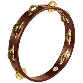 Meinl Meinl Wood Tambourine Brass Jingles 1 Row African Brown