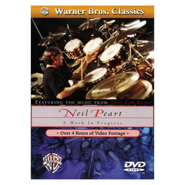 Alfred Publishing Neil Peart: A Work in Progress DVD