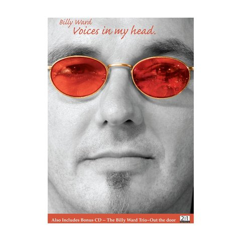 Billy Ward: Voices In My Head DVD and CD