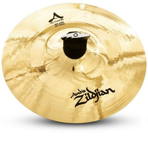 "Zildjian A Custom 10"" Splash Cymbal Brilliant"