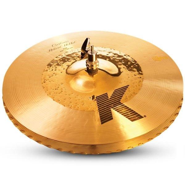 "Zildjian K Custom 14 1/4"" Hybrid Hi Hat Cymbals"