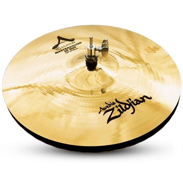 """Zildjian Zildjian 14"""" A Custom Mastersound HiHat Pair"""