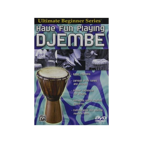 Ultimate Beginner Series: Have Fun Playing Djembe DVD