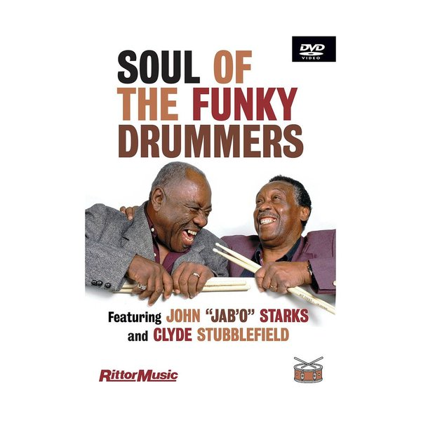 Hal Leonard Clyde Subblefield & John Jab'o Starks: Soul Of The Funky Drummers DVD