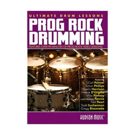 Hal Leonard Ultimate Drum Lessons: Prog Rock Drumming DVD