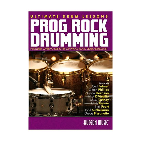Ultimate Drum Lessons: Prog Rock Drumming DVD