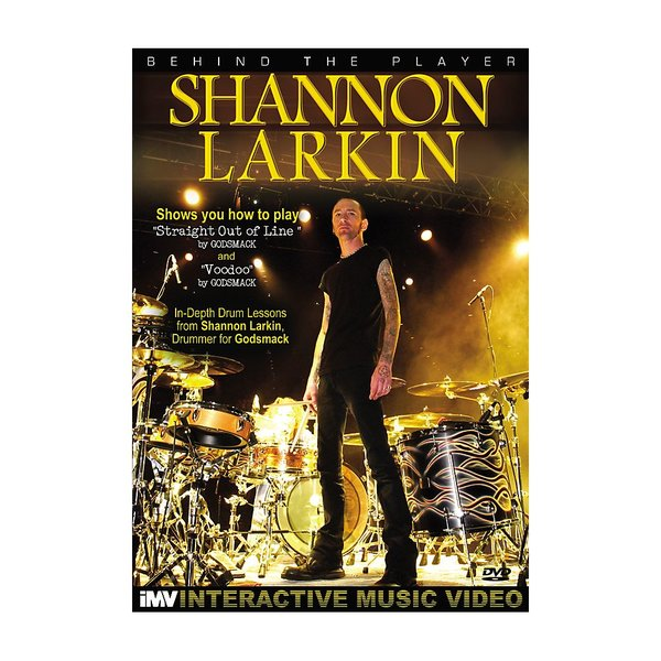 Alfred Publishing Shannon Larkin: Behind The Player DVD