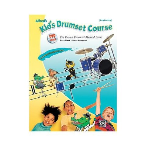 Alfred's Kid's Drumset Course; Book & DVD