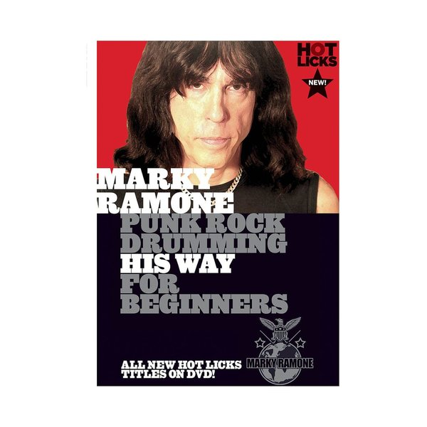 Hal Leonard Marky Ramone: Punk Rock Drumming His Way for Beginners DVD
