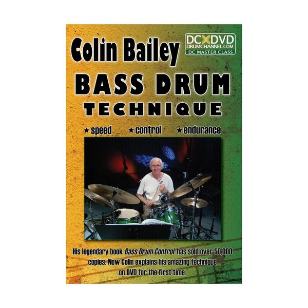 Alfred Publishing Colin Bailey: Bass Drum Technique DVD