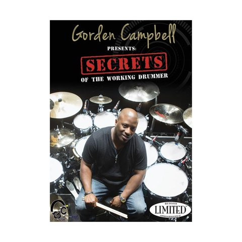 Gorden Campbell: Secrets of the Working Drummer DVD