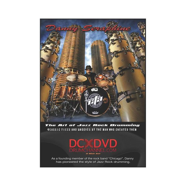 Alfred Publishing Danny Seraphine: The Art Of Jazz Rock Drumming DVD