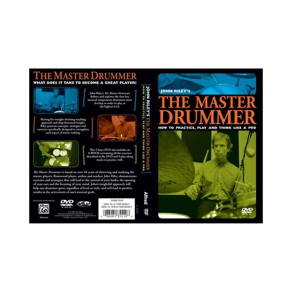 Alfred Publishing John Riley: The Master Drummer DVD