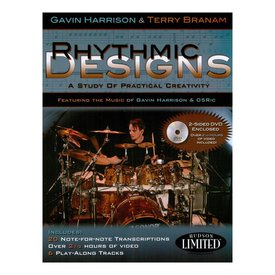 Hal Leonard Rhythmic Designs by Gavin Harrison; Book & CD