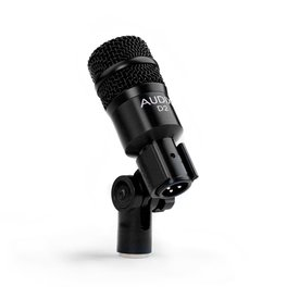 Audix D2 Dynamic Instrument Microphone; Includes Pouch And Clip