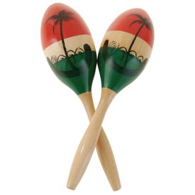 LP LP CP 7 1/2 Medium Wood Maracas