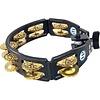 LP Cyclops Mountable Tambourine, Brass/Black