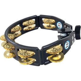 LP LP Cyclops Mountable Tambourine, Brass/Black