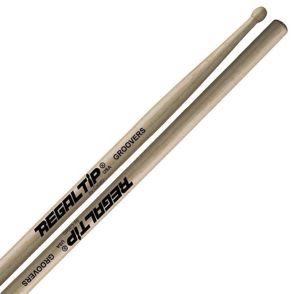 """Regal Tip Regal Tip Performer Series """"Groovers"""" Curt Bisquera Wood Tip Drumsticks"""