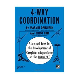 Alfred Publishing 4-Way Coordination by Marvin Dahlgren; Book