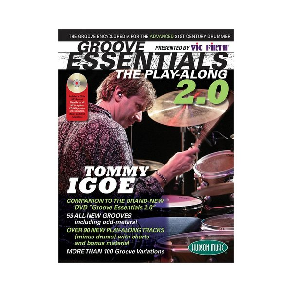 Hal Leonard Vic Firth Presents Groove Essentials 2.0 with Tommy Igoe; Book & CD