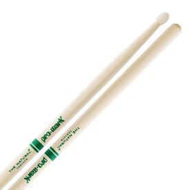 """Promark Hickory 747 Nylon Tip """"Natural"""" Drumsticks"""