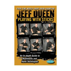 Hal Leonard Jeff Queen: Playing With Sticks DVD