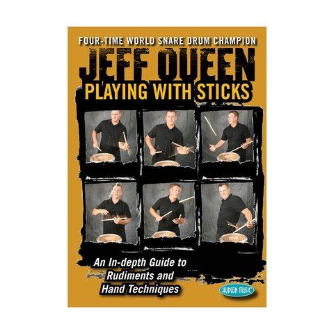 Jeff Queen: Playing With Sticks DVD