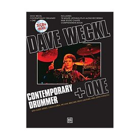Alfred Publishing Contemporary Drummer + One by Dave Weckl; Book, CD, & Charts