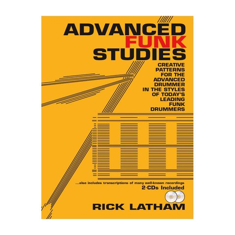 Advanced Funk Studies by Rick Latham; Book & 2 CDs