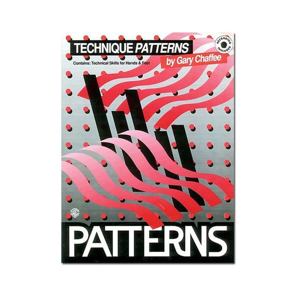 Alfred Publishing Patterns: Technique Patterns by Gary Chaffee; Book & CD