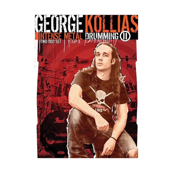 Hal Leonard George Kollias: Intense Metal Drumming II DVD