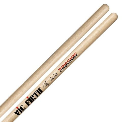 Vic Firth World Classic® -- Alex Acuña Conquistador (clear) timbale