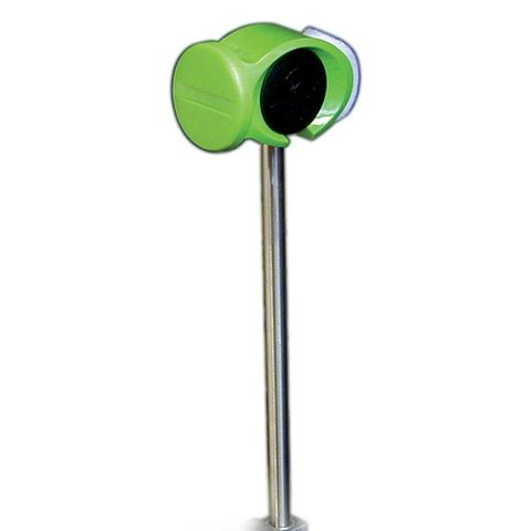Slug Power Head Standard Bass Drum Beater; Green Beater; Steel Tapered Shaft