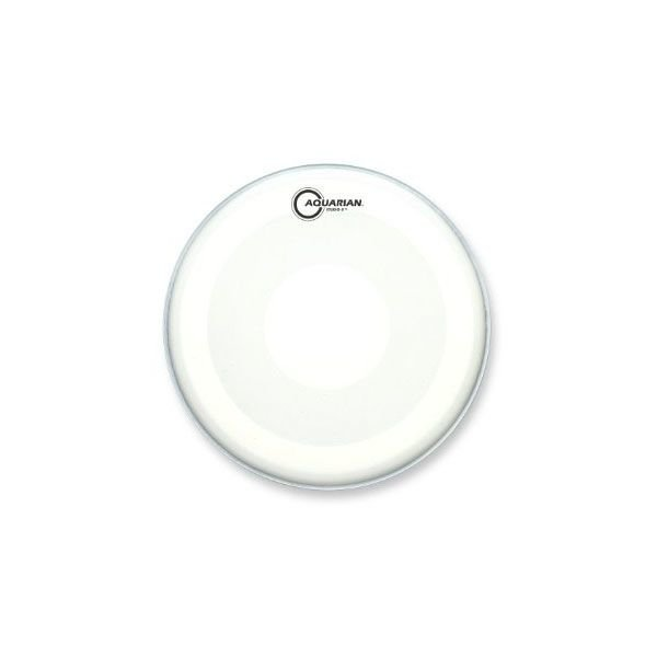 "Aquarian Aquarian Studio-X Series Texture Coated 15"" Drumhead with Power Dot Underside"