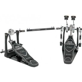 Tama Tama Iron Cobra 900 Series Rolling Glide Double Bass Drum Pedal with Case