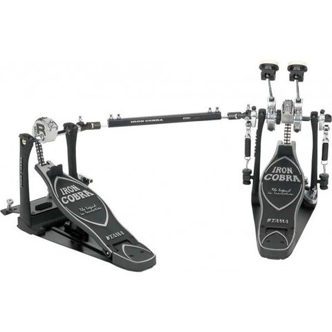 Tama Iron Cobra 900 Series Rolling Glide Double Bass Drum Pedal with Case