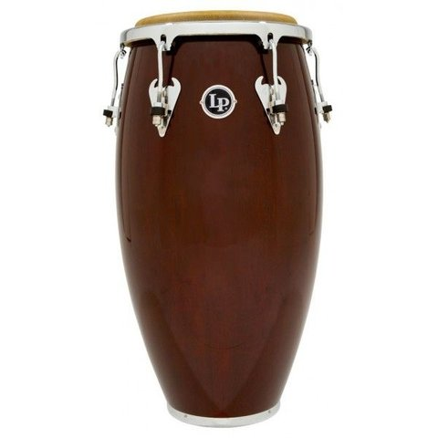 LP Matador 11-3/4 Wood Conga, Dark Brown/Chrome
