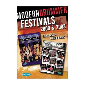 Hal Leonard Modern Drummer Festivals 2000 and 2003 DVD Set