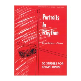 Alfred Publishing Portraits in Rhythm by Anthony J. Cirone; Book