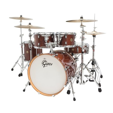 Gretsch Catalina Maple Groove 5 Piece Shell Pack in Walnut Glaze