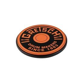 """Gretsch Gretsch Round Badge 12"""" Practice Pad; Orange"""