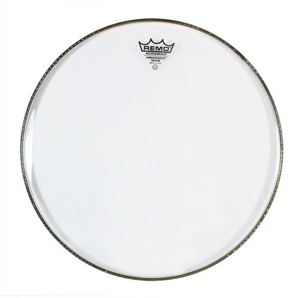 "Remo Remo Clear Ambassador 14"" Diameter Snare Drumhead - No Collar"