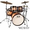*CLOSEOUTC* DrumCraft Series 8 Maple 22 Progressive Rock Shell Pack in Sunburst