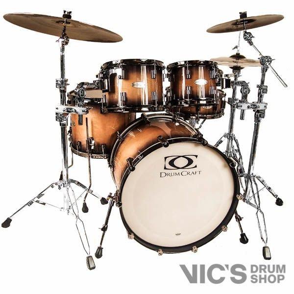 DrumCraft DrumCraft Series 8 Maple 22 Progressive Rock Shell Pack in Sunburst