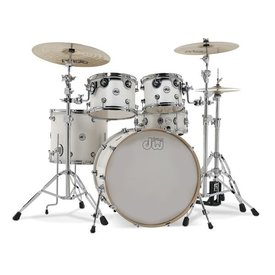 DW DW Design Maple 5 Piece Shell Pack in White Gloss