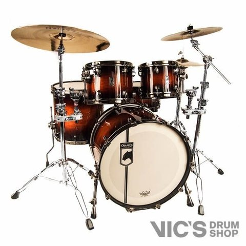 Mapex Black Panther Limited Edition Blaster 4 Piece Shell Pack in Walnut Burst