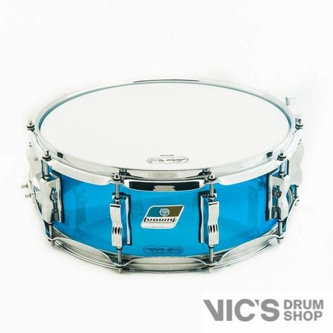 Ludwig USA Vistalite 5x14 Snare Drum in Blue